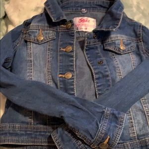 Justice Jean jacket denim jacket